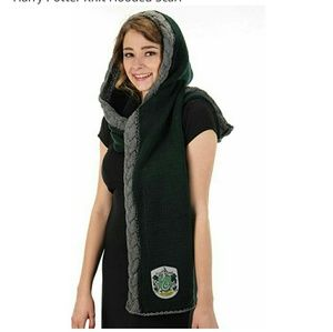 Harry Potter Slythern Hooded Scarf